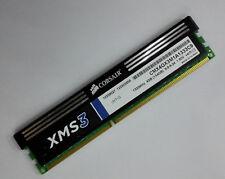 Corsair XMS3 4GB DDR3 1333 Memory/CMX4GX3M1A1333C9/PC3-10600 1333MHz/Both-sided