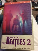 BACK TO THE BEATLES 2 SING ALONG KARAOKE VERY RARE JAPANESE JAPAN VHS CLASSICS!