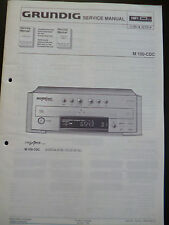 Original Service Manual  Grundig M 100 CDC