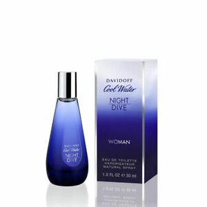 Davidoff Cool Water Night Dive Woman Eau De Toilette Spray 30ml/1.7oz