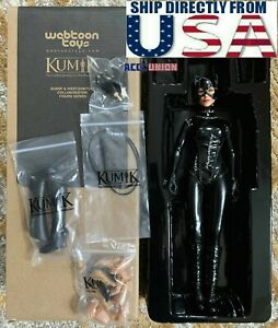 KUMIK 1/6 Catwoman Female Figure Full Set From Batman Movie USA IN STOCK