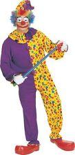 Smiley Il Clown Pagliaccio per Adulti Halloween Costume Da Uomo GRATIS UK P + P ridotto a Clea