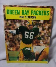 Green Bay Packers 1968 Vtg. Yearbook     T*