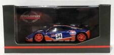 Voitures de courses miniatures bleus pour McLaren 1:43