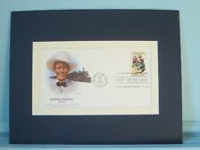 Country Western Great - Jimmie Rodgers & First day Cover of his own stamp
