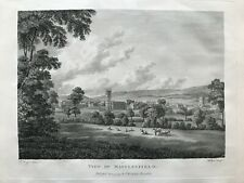 1795 Antique Print; Macclesfield, Cheshire after Edward Dayes