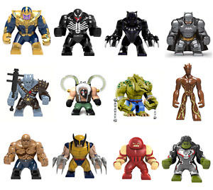 Marvel LEGO X Men DC Super Heroes Xmen Wolverine Bat man Minifigures Lego