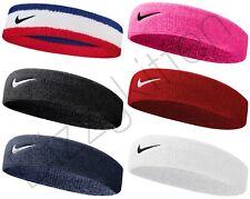 Nike Swoosh Head Band Tennis Training Sweatband Sports Running Gym Fitness