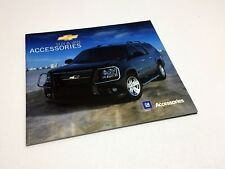 2008 Chevrolet Equinox Suburban Tahoe Trailblazer Uplander Accessories Brochure