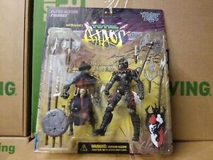 * TOTAL CHAOS THE CONQUEROR DRAGON AND BLADE MCFARLANE 6 INCH FIGURES FIGURE