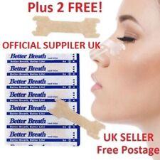 Nasal Nose Sleep strips better breathe Stop Snoring Breath Easier UK-FREE