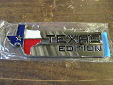 NOS Ford Texas Edition Rear Emblem F-150 Ranger Mustang Explorer Mercury Lincoln