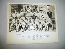 YEARBOOK THE CLARION UNIVERSITY HIGH SCHOOL CHICAGO IL W/ BASEBALL PHOTO 1939