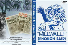 HOOLIGANS DVD MILLWALL HOOLIGANS (the den,bushwackers,casuals,documentary)