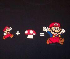 Nintendo SUPER MARIO BROS T-Shirt LARGE