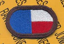 345th PSYOPS BN Airborne USAR Texas para oval patch