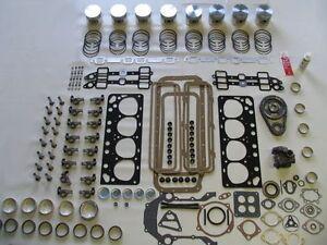 Master Engine Rebuild Kit 59 60 Edsel 292 V8 with pistons rocker arms & camshaft