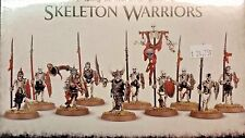 Warhammer Age Sigmar Vampire Counts Undead DEATHRATTLE SKELETON WARRIORS, 10 new