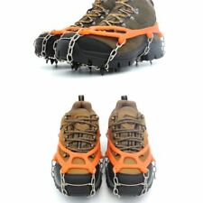 8 Teeth Ice Snow Climbing Gripper Anti-slip Shoe Covers Spike Cleats Crampons