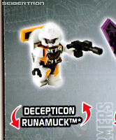 RUNAMUCK Transformers Kre-o Micro-Changers Age Extinction Series 2 Kreon New