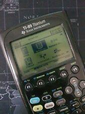 Texas Instruments TI-89 Titanium Scientific Calculator used / new batteries!