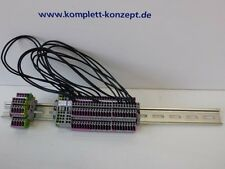 Wago Klemmleiste auf Hutschiene 8001-001/K180-1307/000-6200