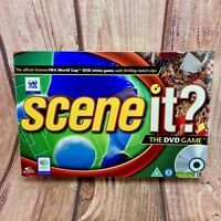 Scene It FIFA World Cup Edition DVD Board Game Brand New & Sealed Gift Present