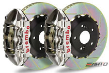 Brembo Rear GT Brake BBK 4pot P Caliper GT-R 345x28 Slot BMW E90 E92 325i 328i