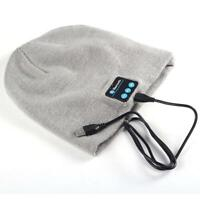 Warm Beanie Hat Wireless Bluetooth Smart Cap Headphone Headset Speaker Mic #C PK