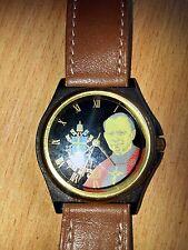 Rare soviet LUCH QUARTZ watch Catholic Pope John Paul II '1980s New NOS