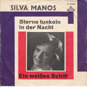 7 45 Silva Manos - Sterne Funkeln In Der Nacht RARE Telefunken Schlager Single