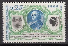 FRANCE TIMBRE NEUF N° 1572  ** RATTACHEMENT DE LA CORSE LOUIS XV