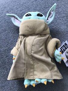 Star Wars: The Mandalorian Grogu The Child Baby Yoda Soft Toy Disney TV