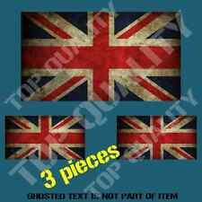 BRITAIN BRITISH NATIONAL FLAG DECAL STICKER GRUNGE RUSTIC WEATHERED STICKERS
