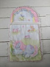 Vintage My Little Pony Dolls Bedding Blanket And Pillow