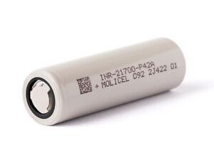 Molicel INR21700-P42A, 4200mAh 30A bis max. 45A Li-Ionen-Akku, 3,6V - 3,7V