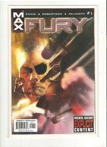 FURY (2001) NOV 2001 #1 MARVEL COMIC BOOK 9.4 NM
