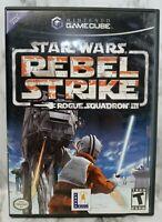 Star Wars Rebel Strike Rogue Squadron III Nintendo Gamecube Lucas Arts Rated T