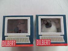 DILBERT AND DOGBET PLUSH DOLLS IN ORIGINAL BOX COMMONWEALTH TOYS SCOTT ADAMS