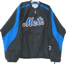 Majestic New York Mets 1/4 zip jacket with front pocket & side zipper men's XL