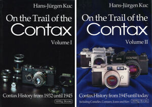 On The Trail of The Contax 2 Volumes Hans-Jurgen Kuc 2012 Edition