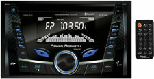 New Power Acoustik Double Din PCD-52B CD/WMA/MP3 Digital Media Player Bluetooth