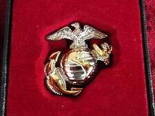 Fregio Beret Badge USMC Us Navy Marines WWII