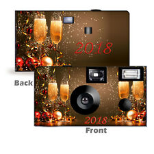 2018 Champagne Celebration Disposable Cameras, New Year's Party, Happy New Year