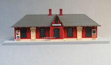 MTH RAIL KING MAIN STREET PASSENGER STATION O GAUGE train christmas 30-90524 NEW