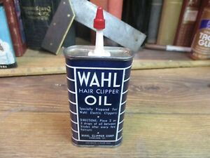 WAHL OIL CAN HAIR CLIPPER TIN HOUSEHOLD HANDY SEWING MACHINE store  3 FL OZ JMJ