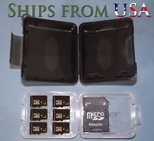 6x 4GB Micro SD Cards w/SD Card Reader, Carrying Case & FREE SHIPPING
