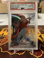 2017 Bowman High Tek Autograph Auto Nick Senzel RC Rookie PSA 10 Gem Mint Reds