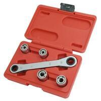 5pc Go Through Stud Extractor Set Damaged Stud Tool Sizes 6, 8, 10 &12mm