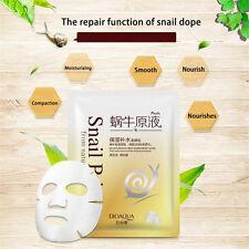 Facial Skin Care Face Mask Sheet Pack Essence Moisture Cosmetics Snail Mask New